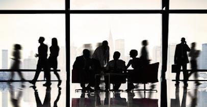 Des salariés dans une entreprise
