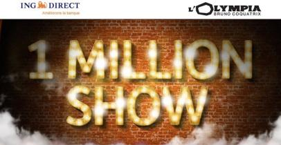One Million Show ING Direct