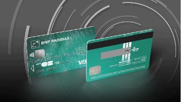 Carte bancaire Motion Code BNP Paribas