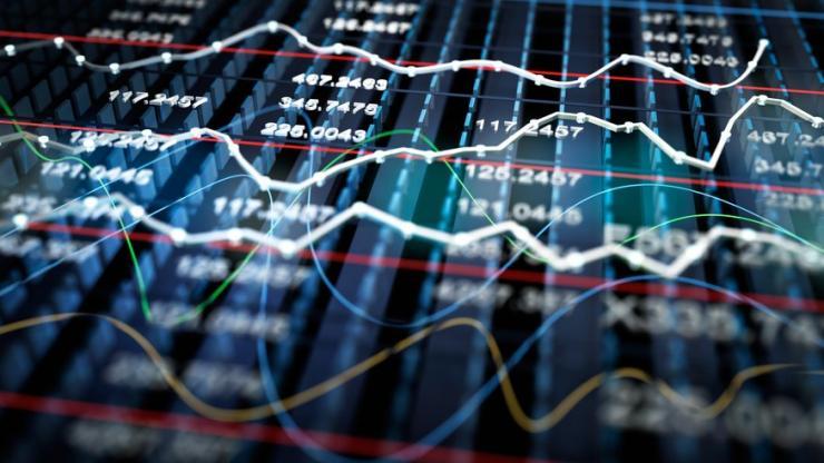 Des cours de bourse