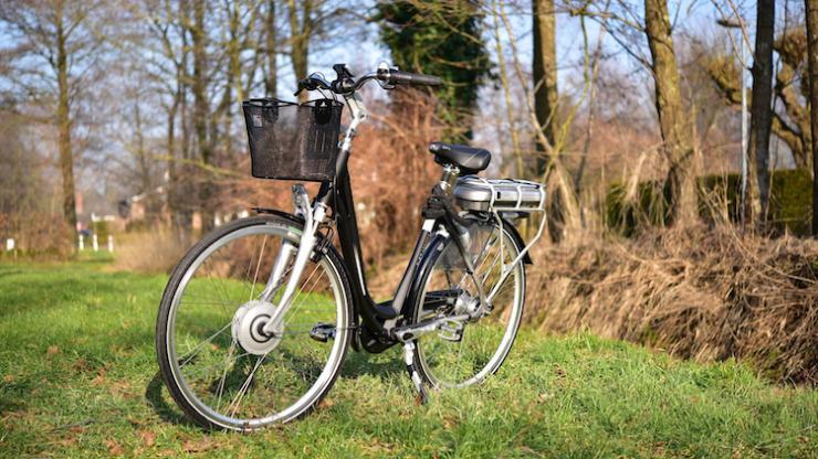 Un vélo en plein air