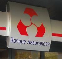 Une agence du Crédit Mutuel en 2015
