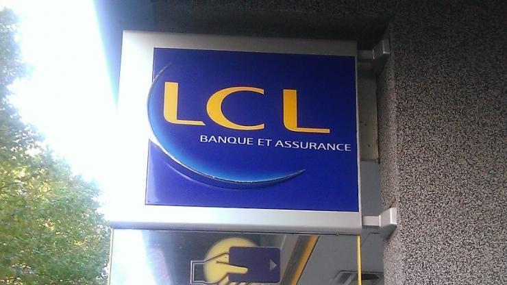 Une agence LCL en 2015