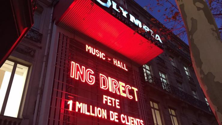 One Million Show ING Direct à l'Olympia, 26 novembre 2015