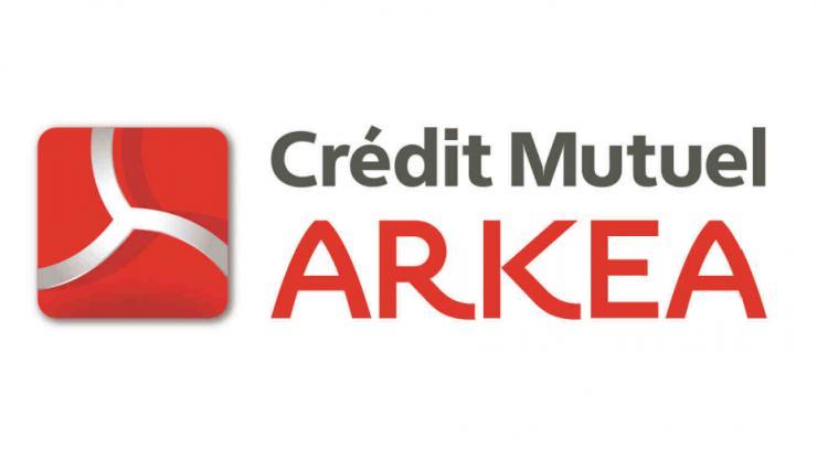 Logo du Crédit Mutuel Arkéa