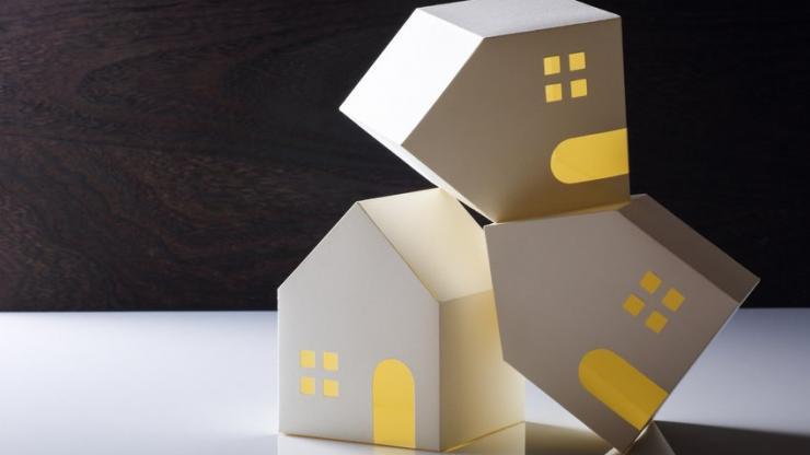 Des maisons de guingois