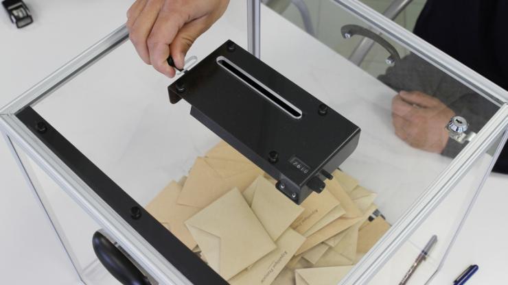 Urne d'élection