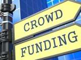 "Flèches indiquant ""Crowdfunding"""