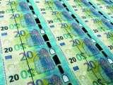 Planche de billets de 20 euros (2015)