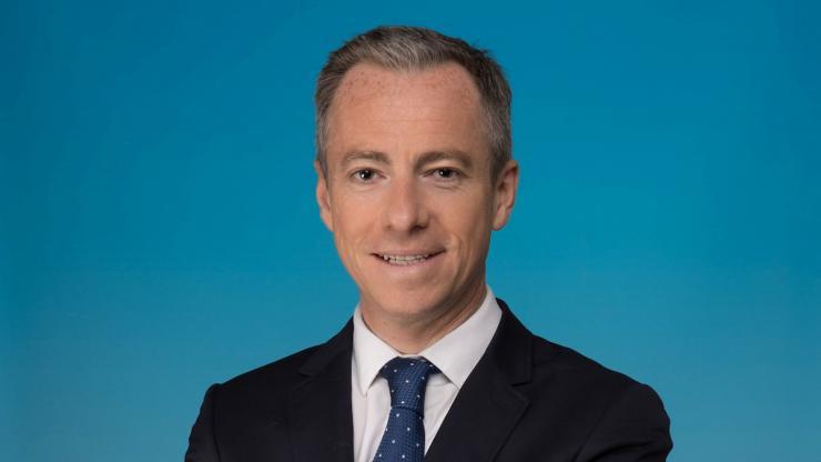 Xavier Collot, directeur du développement commercial d'épargne salariale et retraite d'Amundi
