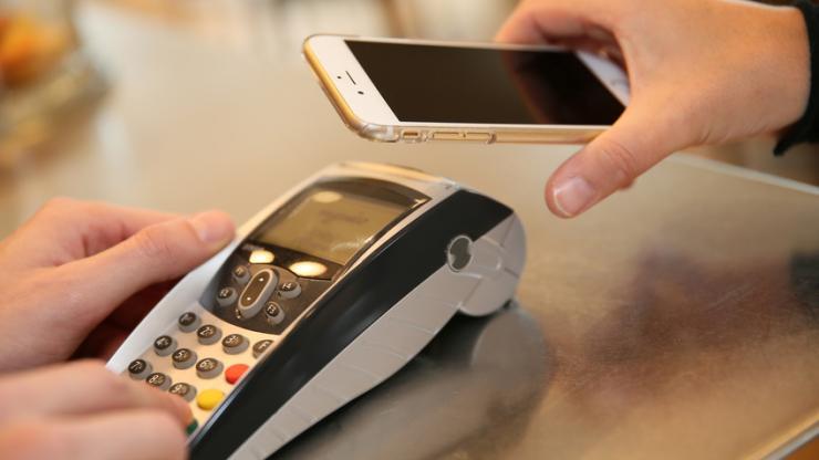 Paiement en magasin avec un smartphone