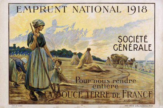 Affiche emprunt national à la Société Générale