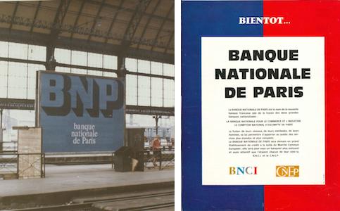 Publicités BNP