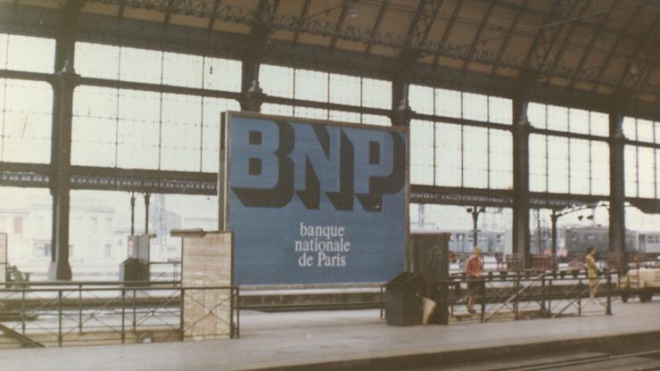 Publicité BNP en 1966