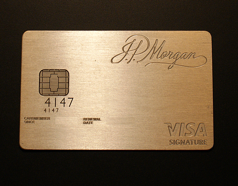 JP Morgan Chase Palladium Card