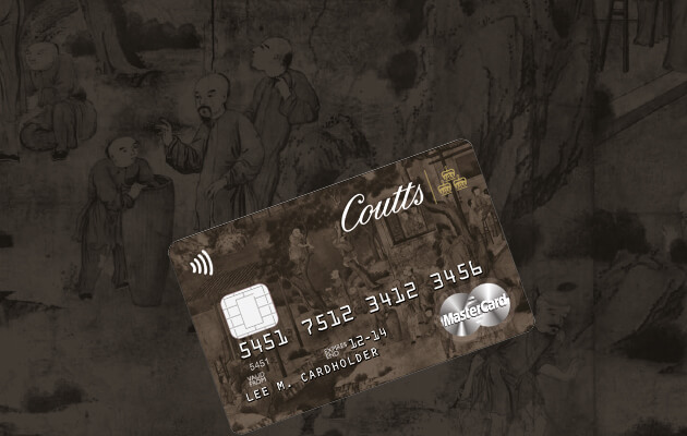 Coutts & Co Silk Card