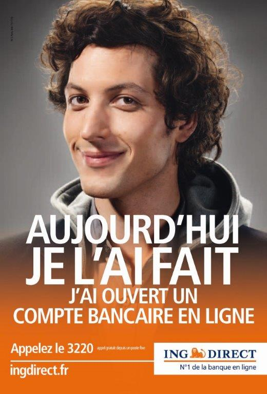 Affiche ING Direct - 2010