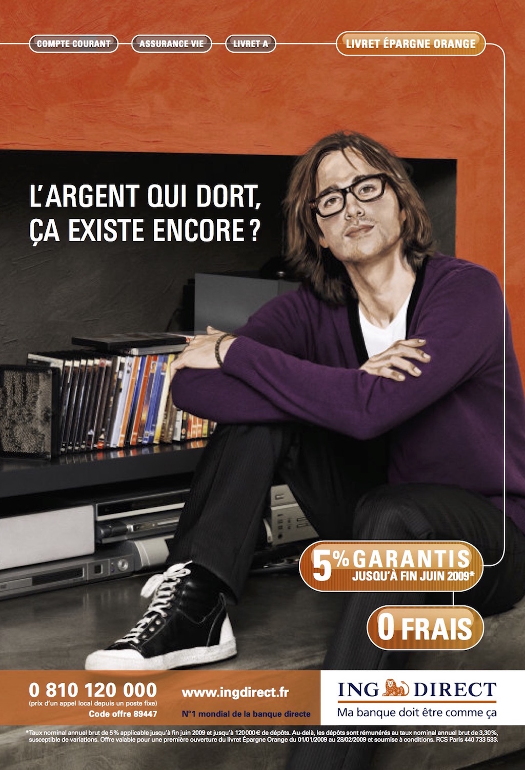 Campagne ING en 2009