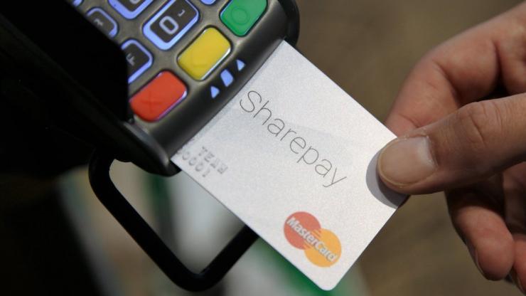 Paiement avec carte Mastercard Sharepay