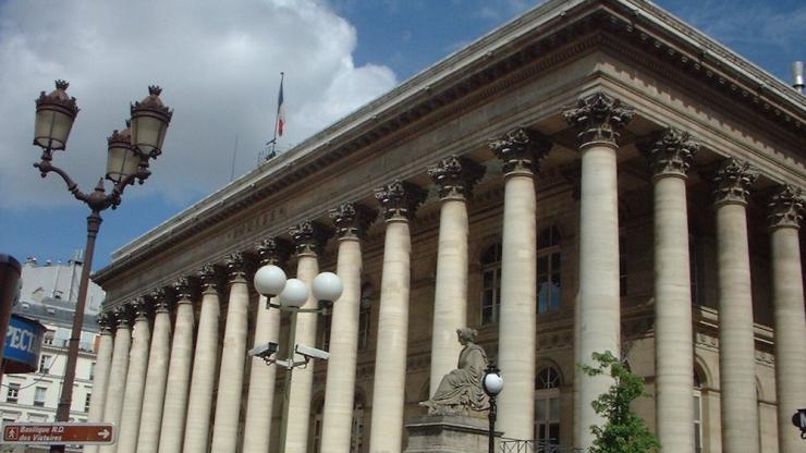 Palais Brongniart à Paris en 2004