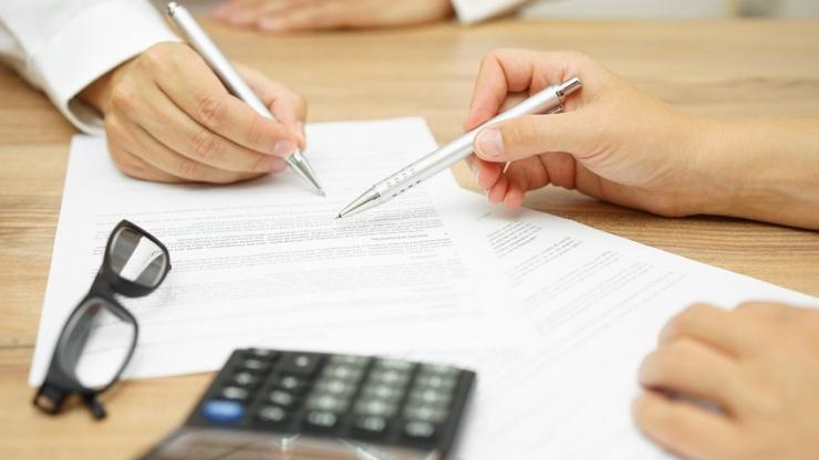 Une signature de contrat