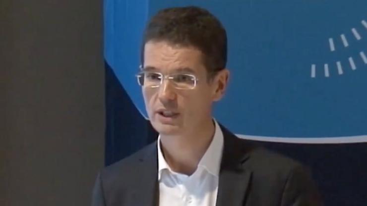 Arnaud Giraudon en janvier 2015