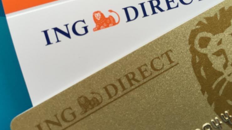 Chéquier et carte Gold ING Direct