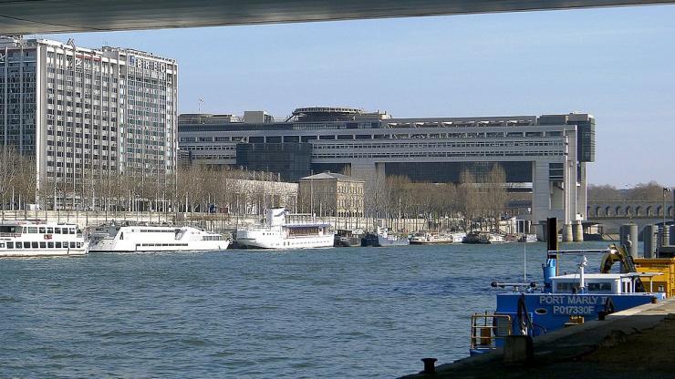 Bercy et le quai de la Rapée en 2011