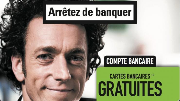 """Publicité """"Arrêtez de banquer"""", de Fortuneo"""