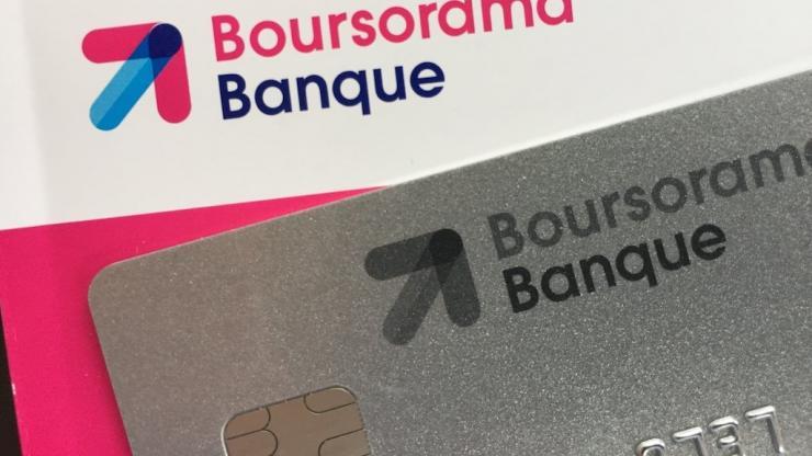 Carte et chéquier Boursorama