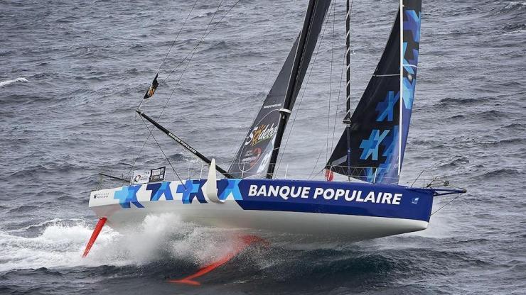 Banque Populaire VIII, monocoque pour le Vendée Globe 2016-2017 – Skipper Armel Le Cléac'h.