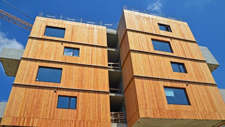 Un immeuble en bois