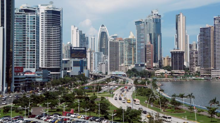 Panama City en août 2013