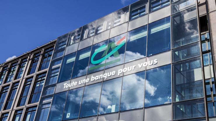 Siège de Crédit Agricole S.A. à Montrouge fin avril 2016