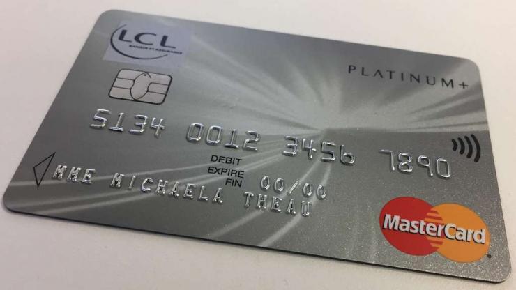Carte MasterCard Platinum+ LCL