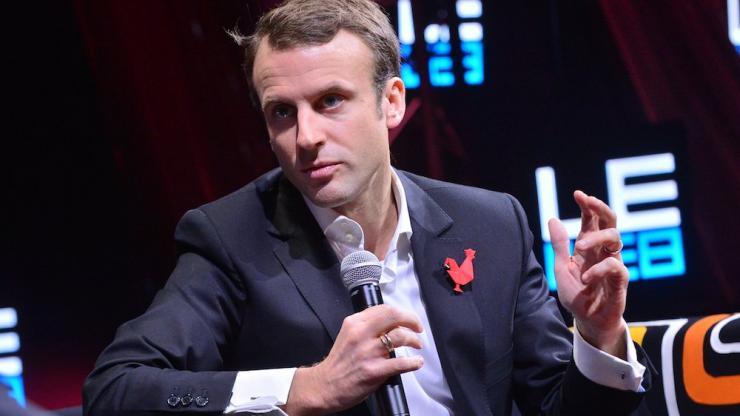 Emmanuel Macron en 2014