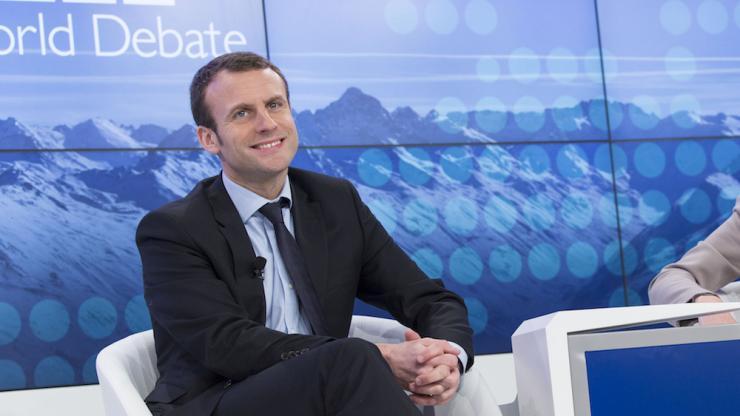 Emmanuel Macron en 2016