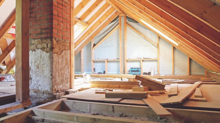 Une maison en rénovation