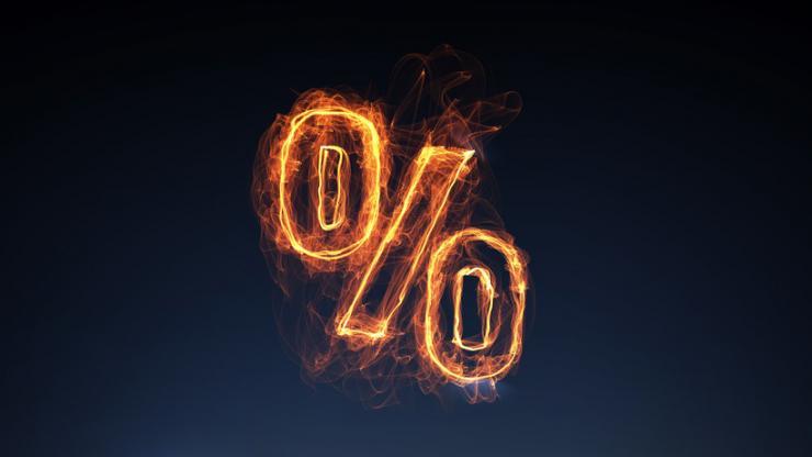 Un taux en feu