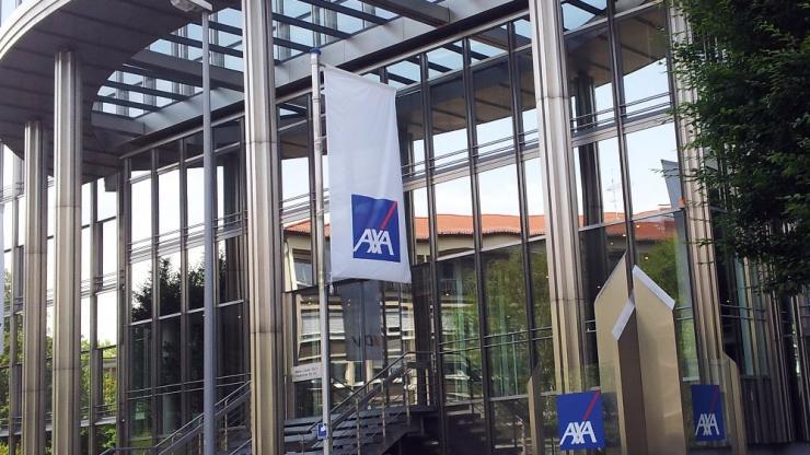 Gebäude der DBV-Axa in Wiesbaden, 2014