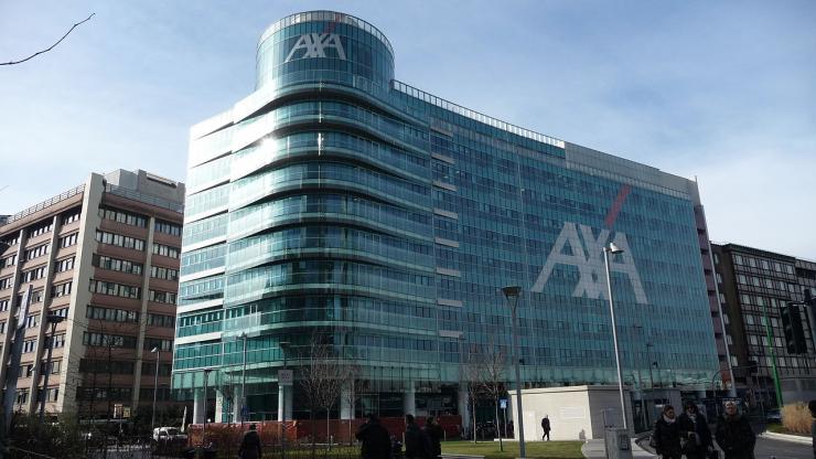 Palazzo AXA en 2015