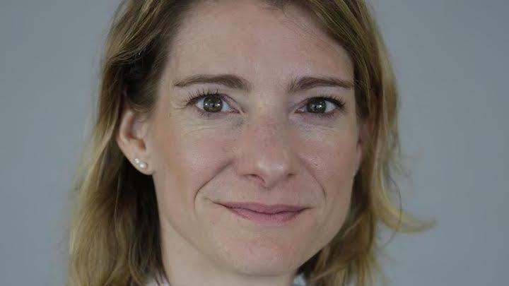 Julia Poublan, directrice Marketing et Communication de BforBank, en janvier 2016