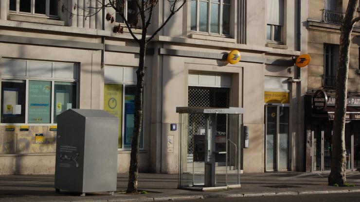 Agence la Poste Rue du Faubourg Saint-Martin à Paris en 2014