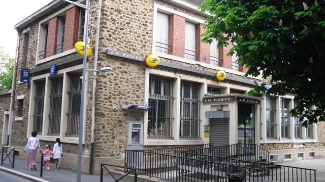Agence la Poste à Athis-Mons en 2010