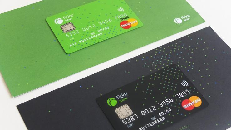 Cartes bancaires Fidor