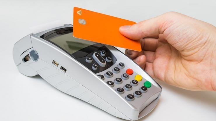 Client payant avec un carte sans contact
