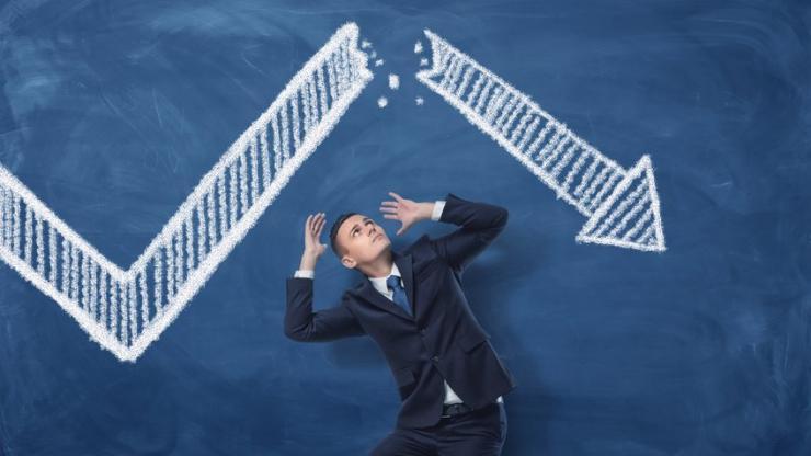 Submergé par le doute, inversion courbe de taux — Wall Street