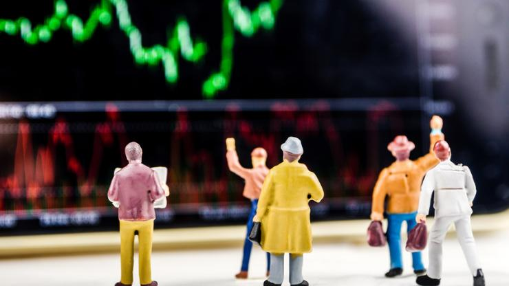 Des figurines à la bourse
