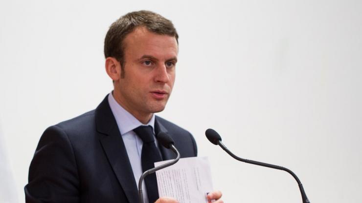 Emmanuel Macron en décembre 2015
