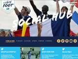 Site Euro 2016 du Crédit Agricole